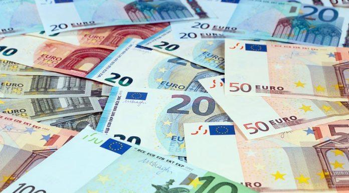 χαρτονομισμάτων ευρώ