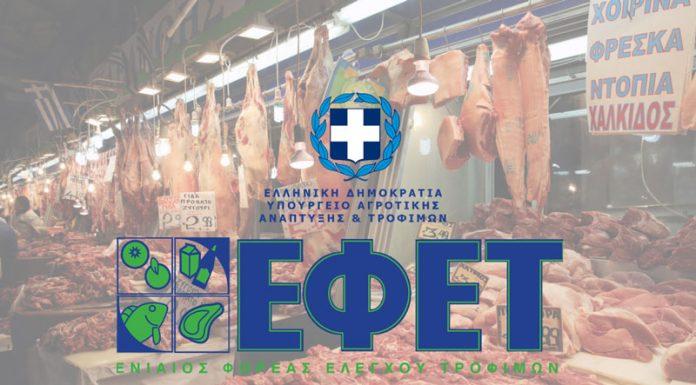 ΕΦΕΤ: Χριστουγεννιάτικοι έλεγχοι στην αγορά τροφίμων