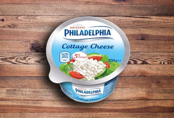Mondelez: Εθελοντική ανάκληση του τυριού Cottage Cheese Philadelphia