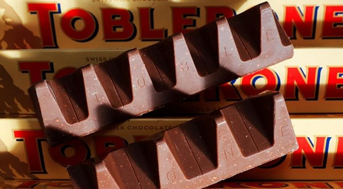 """""""Επιστρέφει"""" η κλασική Toblerone"""