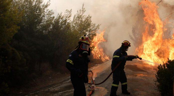 Σε πένθος η Ελλάδα από τις φονικές πυρκαγιές