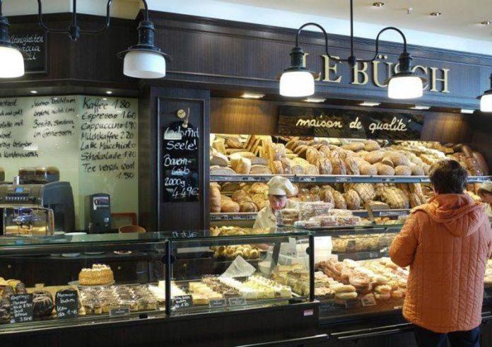 Σούπερ μάρκετ πολυτελείας με μπαρ σαμπάνιας και ζύμωμα ψωμιού