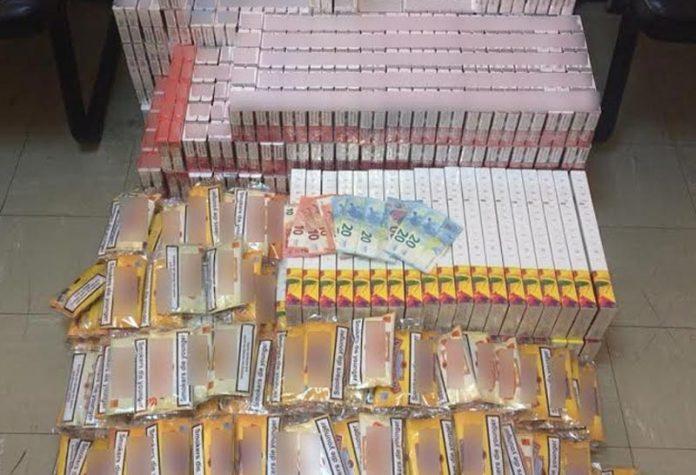 λαθραία καπνικά προϊόντα, πάνω από 12.500 λαθραία πακέτα τσιγάρων