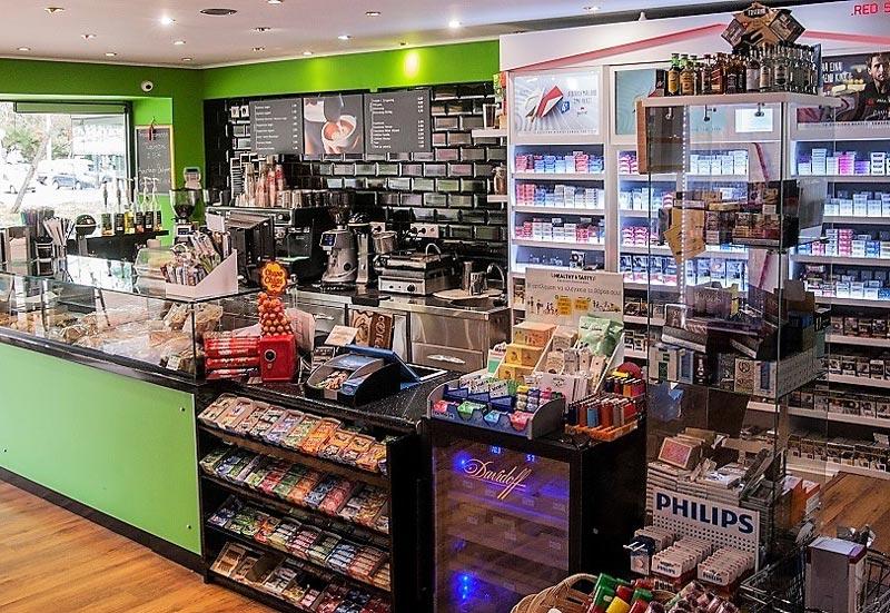 Μίνι μάρκετ & Καφέ
