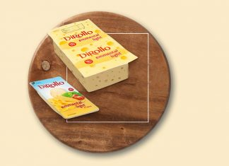 Νέο τυρί χαμηλών λιπαρών Dirollo