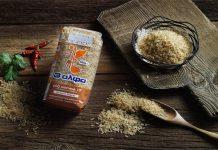 Νέο καστανό ρύζι 3αλφα