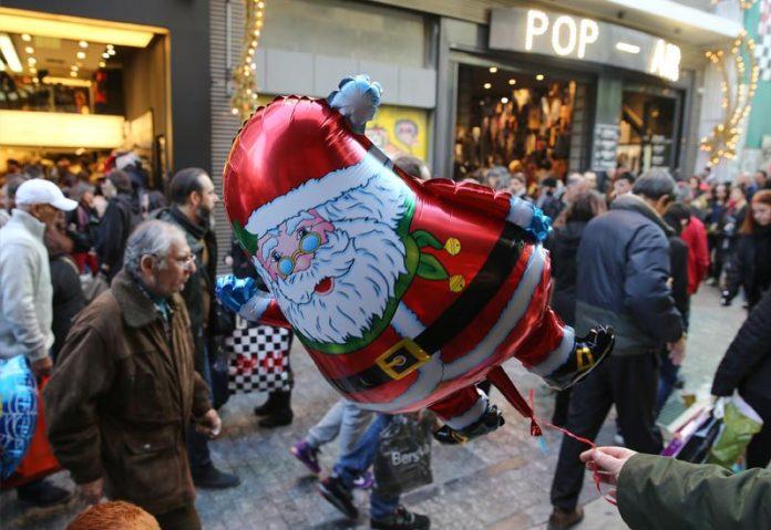 Στα 3,5 δισ. ευρώ ο τζίρος λιανικής της εορταστικής περιόδου