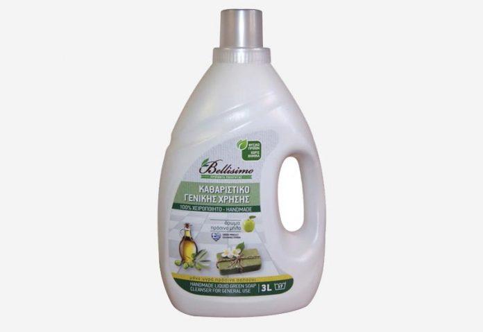 Χειροποίητα προϊόντα καθαριότητας από τη Bellisimo