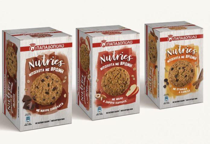 Nutries Παπαδοπούλου σε 3 γευστικούς συνδυασμούς