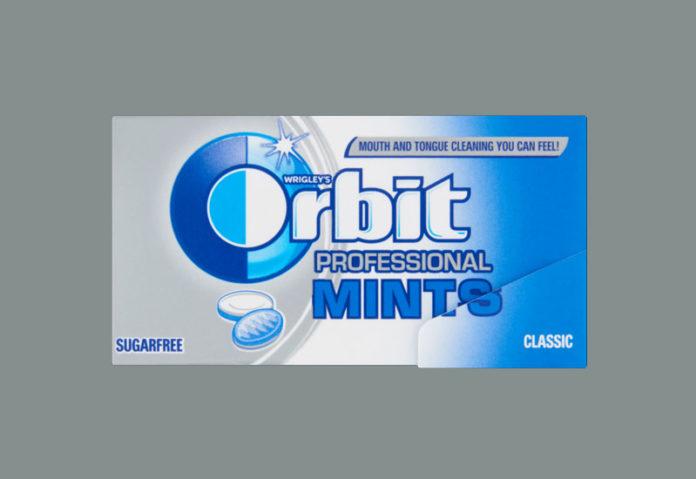 Νέες Orbit Professional Mints από τη Mars Hellas