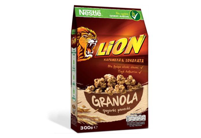Δημητριακά Lion από τη Nestle