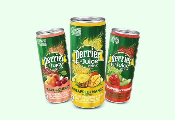 Διάκριση της Nestlé για το Perrier & Juice