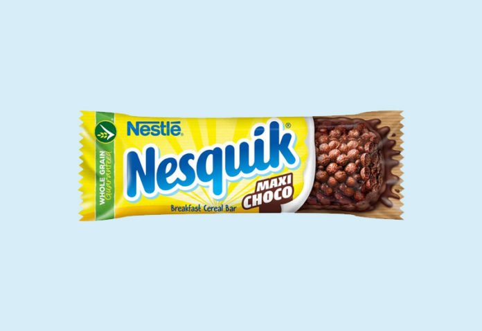 Σοκολατένια μπάρα δημητριακών Nesquik