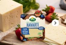 Κίτρινο τυρί Havarti από την Arla Foods