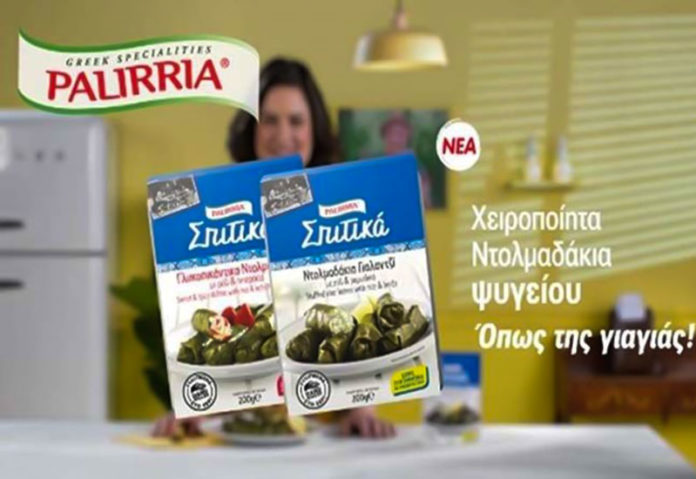 Σπιτικά ντολμαδάκια ψυγείου λανσάρει η Παλίρροια