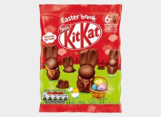Πασχαλινά λαγουδάκια Kitkat