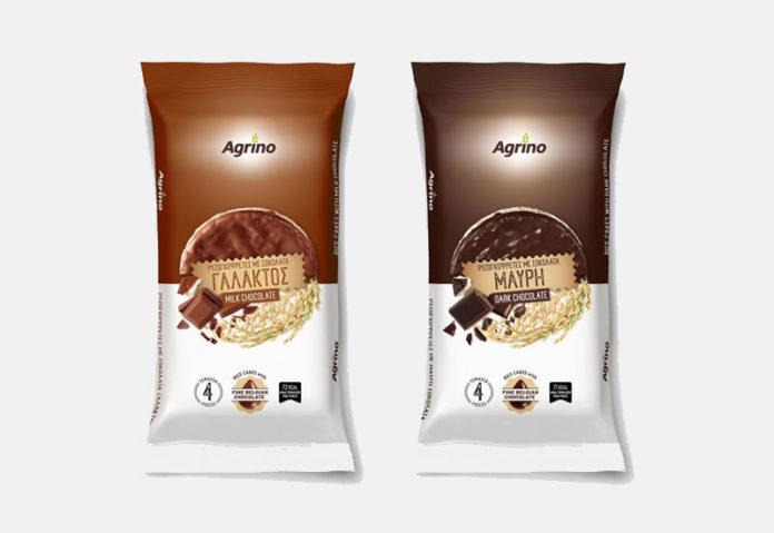 Ρυζογκοφρέτες με σοκολάτα από την Agrino