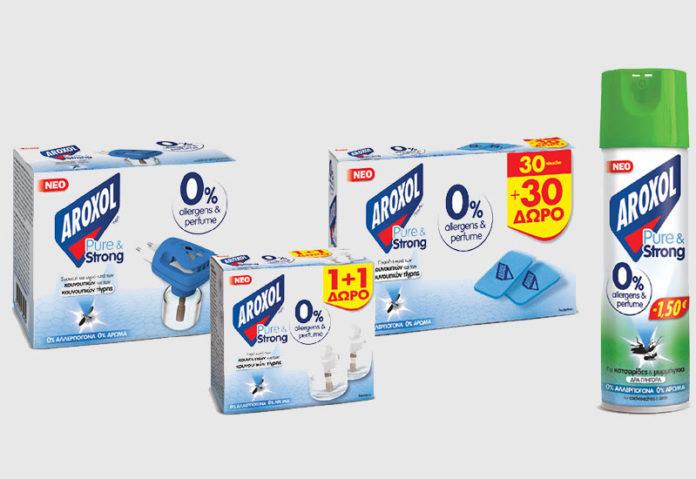 Aroxol: Σειρά εντομοαπωθητικών με 0% άρωμα