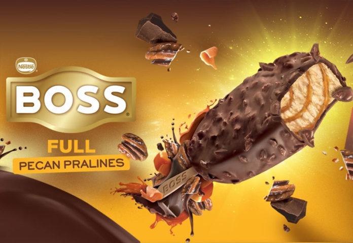 Νέα παγωτά Boss στα πράσινα ψυγεία