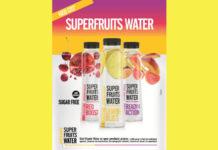 Superfruits Water: Νέο βιταμινούχο νερό σε 3 γεύσεις